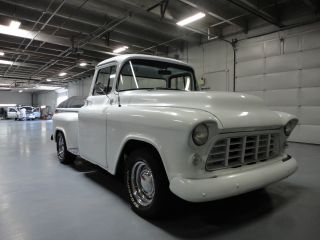 1956 Chevrolet 3100 Stepside Big Window With Newer 350 V8 Automatic photo