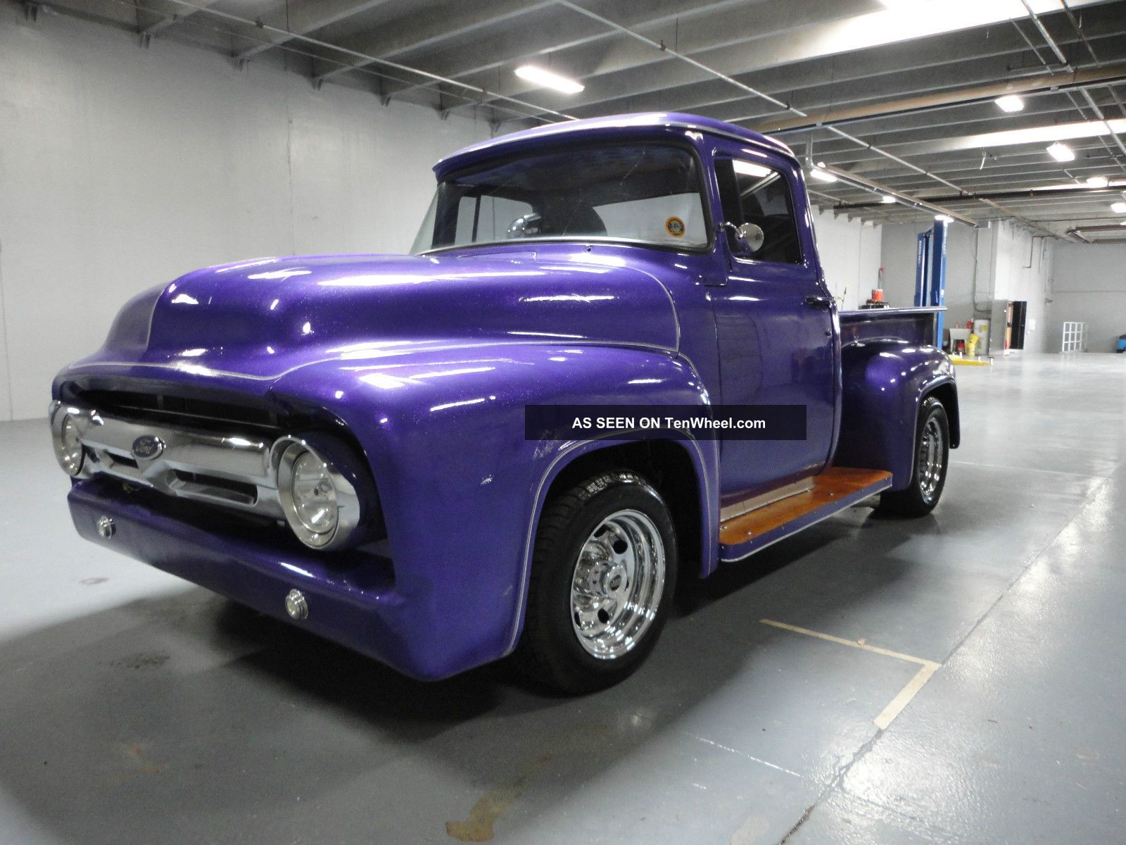 1956 Ford F100 Custom Hot Rod Truck With Extremely Powerful 460 Cid V8 Other Pickups photo