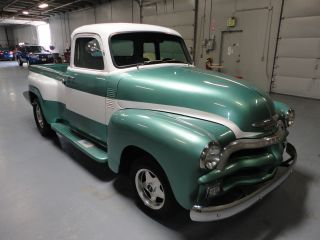 1954 Chevrolet 3100 Restomod 5 Window Excellent Daily Driver Upgraded photo