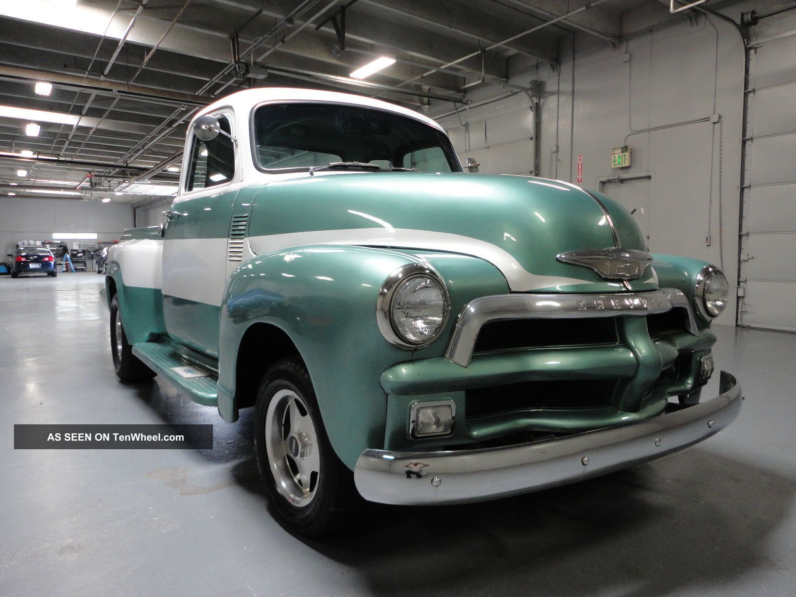 1954 chevrolet 3100 restomod 5 window excellent daily for 1954 chevy 3100 5 window