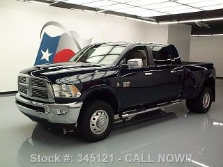 2012 Dodge Ram 3500 Laramie Mega 4x4 Diesel Dually Texas Direct Auto photo