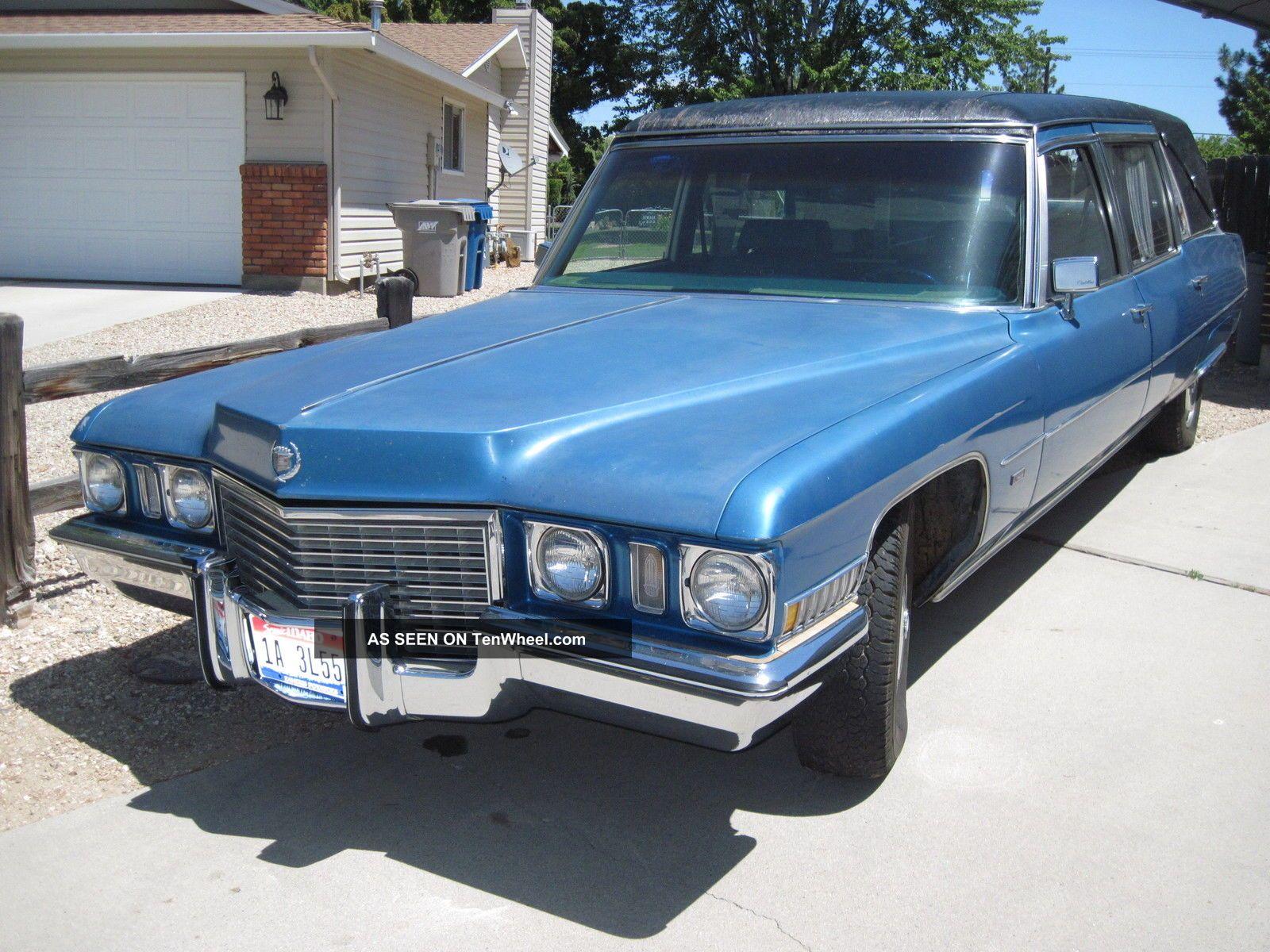 1972 Cadillac - Custom Victoria - Hess & Eisenhardt - Hearse Other photo