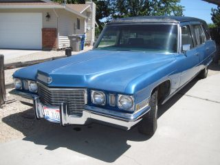1972 Cadillac - Custom Victoria - Hess & Eisenhardt - Hearse photo