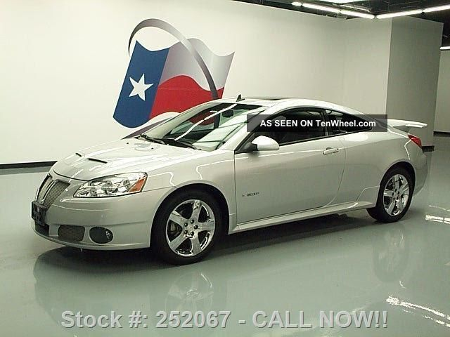 2009 Pontiac G6 Gxp Coupe Auto Htd 69k Texas Direct Auto G6 photo