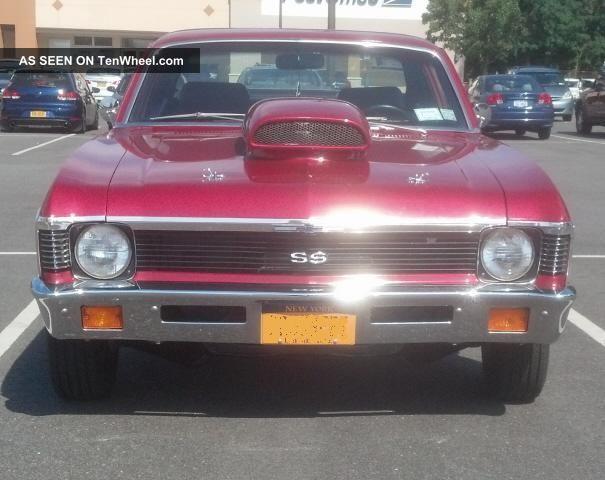 1972 Chevy Nova Pro Street 454 Bbc Nova photo