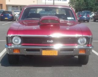 1972 Chevy Nova Pro Street 454 Bbc photo