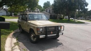 Excellent 1987 Land Cruiser Fj 60 photo