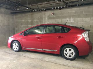 2010 Gorgeous 5dr Hb Red Prius Iv - - Luxury / Solar Panel Moon Roof photo