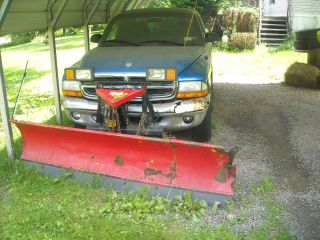 4x4 Dodge Dakota 1998 With Fisher - Plow - - Needs Work - - photo