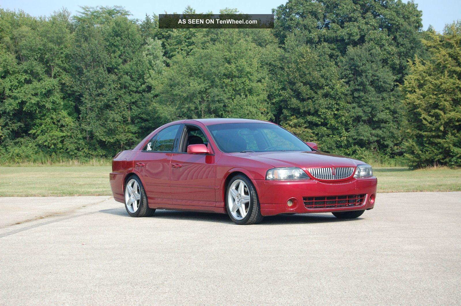 2004 Lincoln Ls Base Sedan 4 - Door 3.  9l LS photo