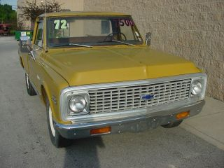 1972 Chevrolet C10 Pickup Rat - - Rod - - Look - - - - - Father / Son Project photo