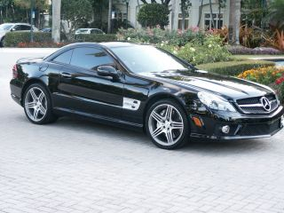 2011 Mercedes - Benz Sl Class Sl63 Amg 2d Roadster photo