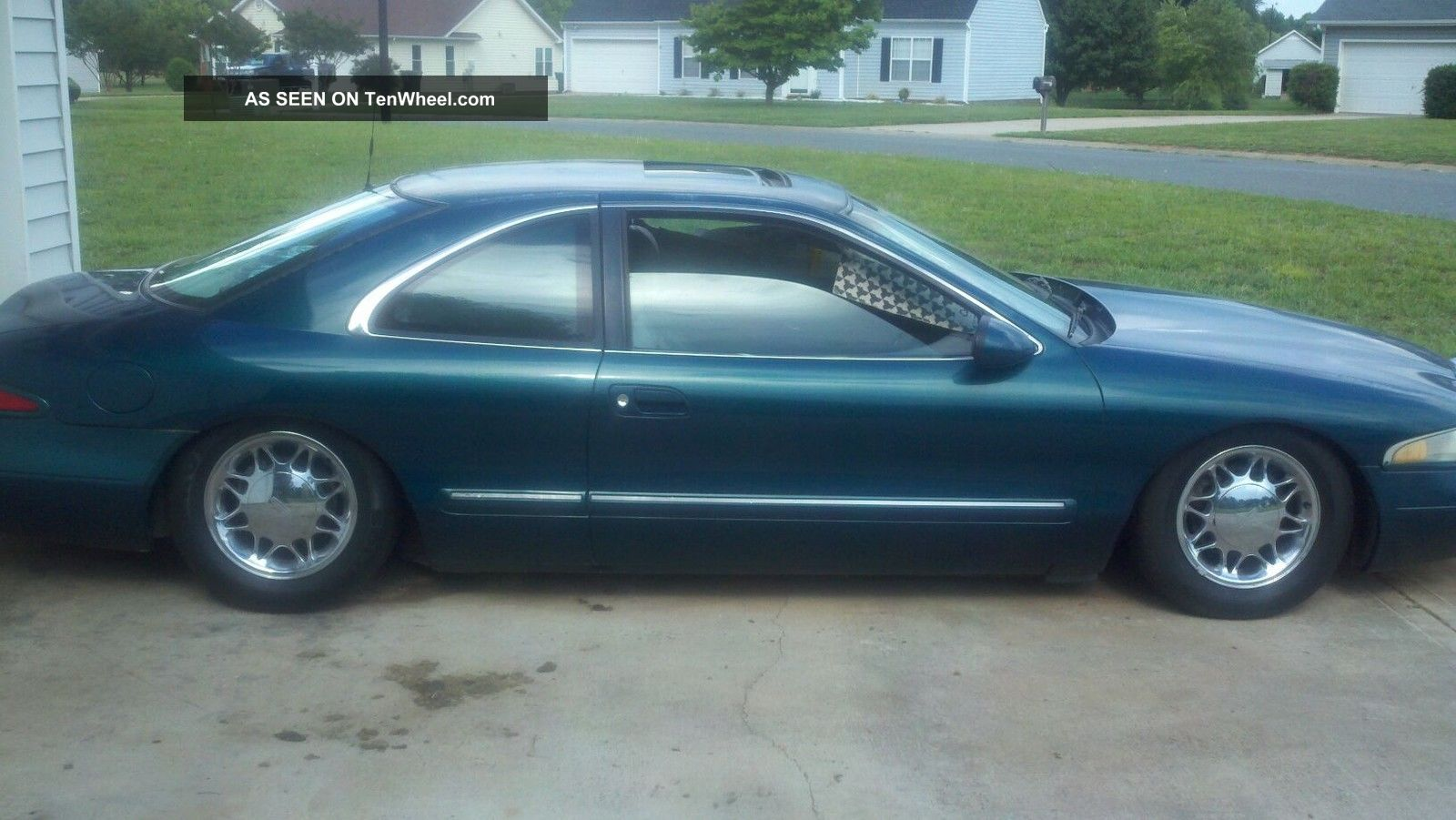 1997 Lincoln Mark Viii Base Sedan 2 - Door 4.  6l Mark Series photo