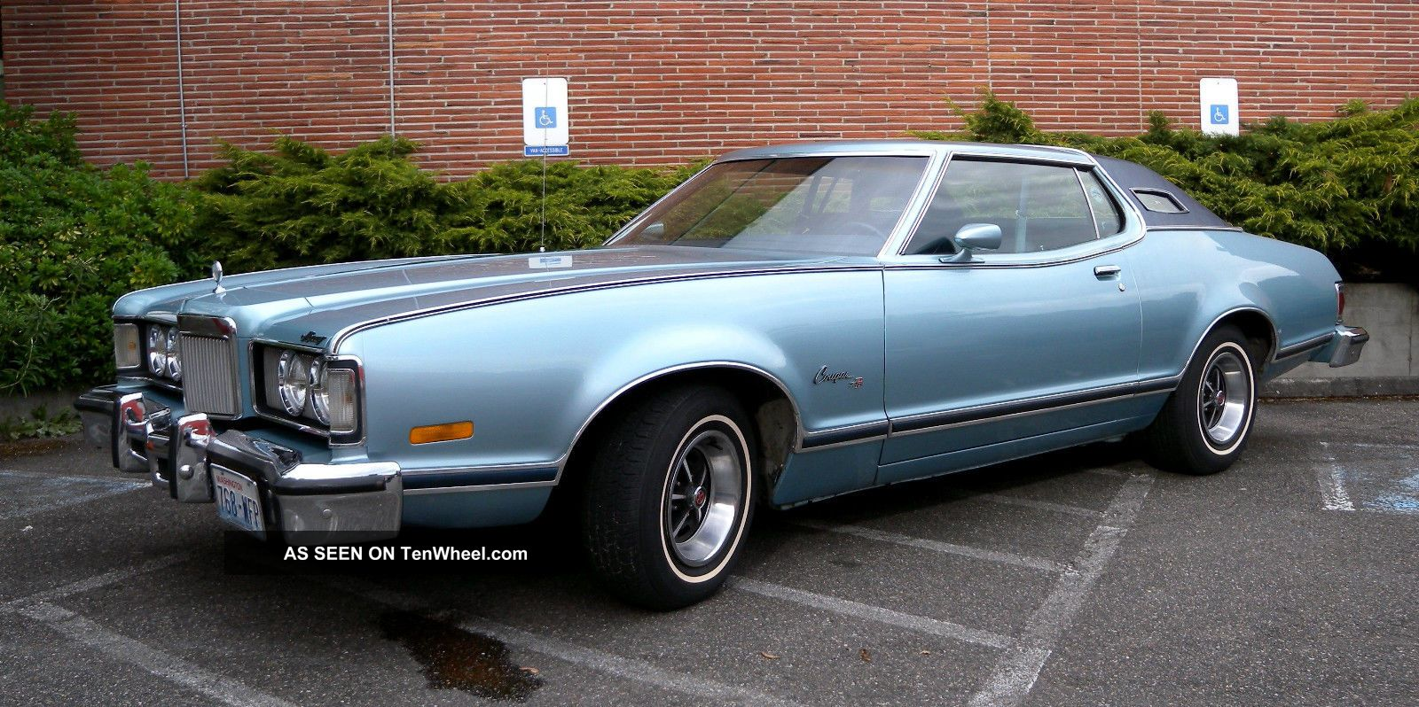 1976 mercury cougar xr7 blue landau 2 door 94 700 mi all. Black Bedroom Furniture Sets. Home Design Ideas