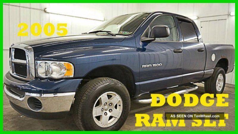 2005 Dodge Ram 1500 Slt 4.  7l V8 16v Pickup Truck 4x4 80+ Photos Ram 1500 photo