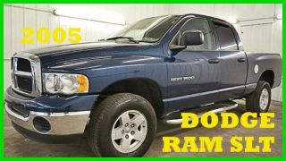 2005 Dodge Ram 1500 Slt 4.  7l V8 16v Pickup Truck 4x4 80+ Photos photo