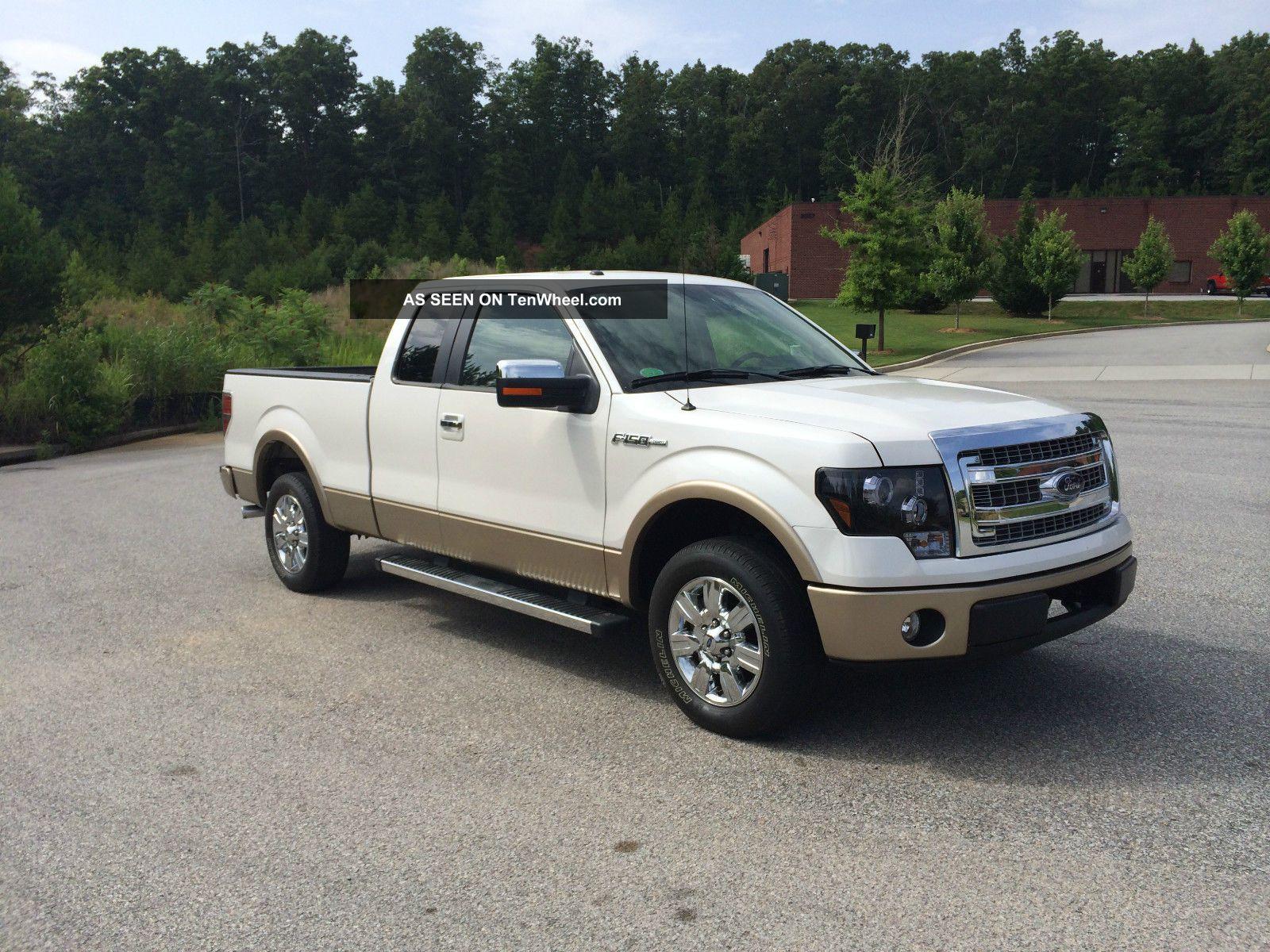 2012 ford f 150 lariat extended cab pickup 4 door 5 0l. Black Bedroom Furniture Sets. Home Design Ideas