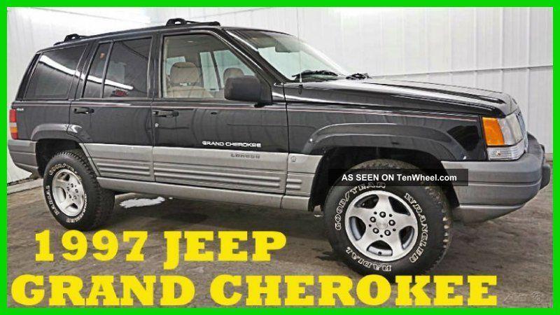 1997 Jeep Grand Cherokee Laredo 4l I6 12v 74,  Xxx Orig 80+photos Wow Grand Cherokee photo