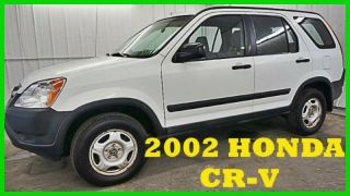 2002 Honda Crv Lx 2.  4l I4 16v 4wd Gas Saver 80+photos Wow photo