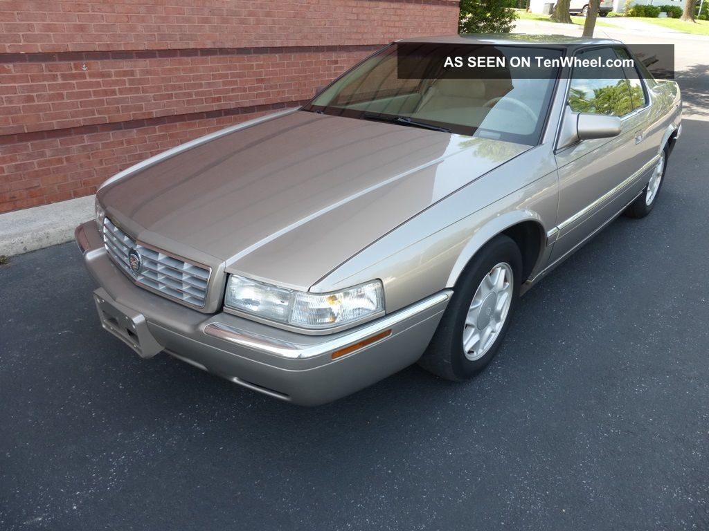 2000 Cadillac Eldorado Esc Very Runs & Drives Eldorado photo