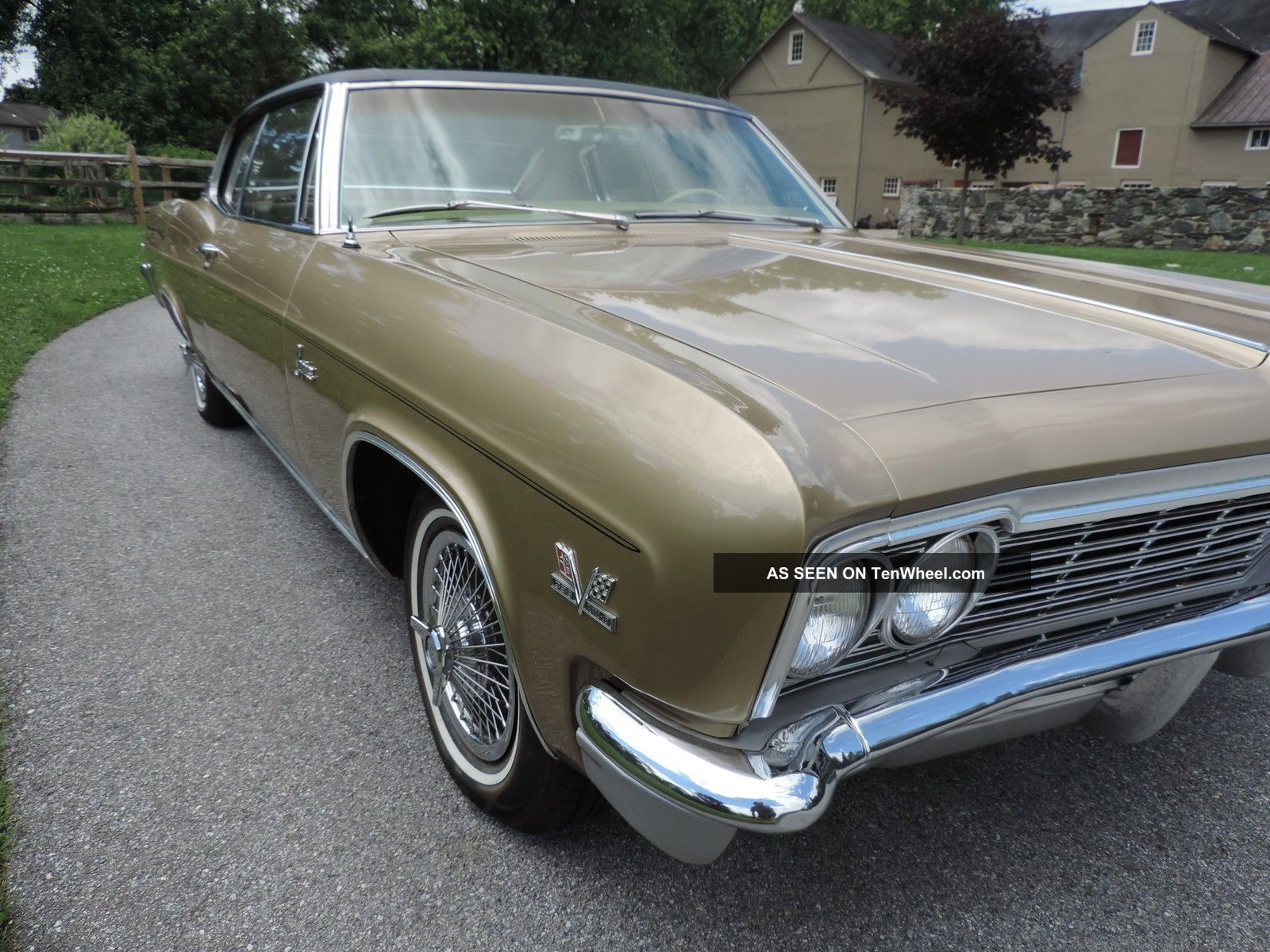1966 Chevrolet Caprice Coupe 396 Chevy For Sale