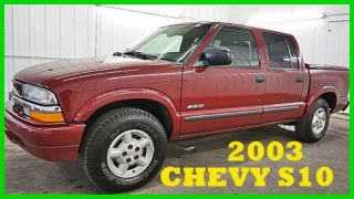 2003 Chevrolet S10 Ls 4.  3l V6 12v 4x4 80+photos Wow photo