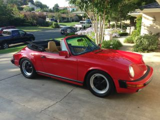 1988 Porsche 911 Carrera Cabriolet photo