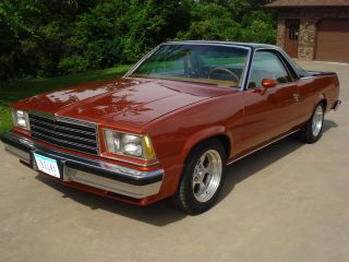1978 Chevrolet El Camino Base Standard Cab Pickup 2 - Door 5.  0l photo