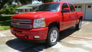 2013 Chevrolet Silverado 1500 Crew Cab Ltz Z71 4wd photo