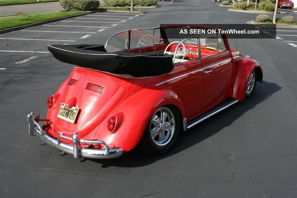 1964 Convertible Volkswagen Beetle / Bug Beetle - Classic photo