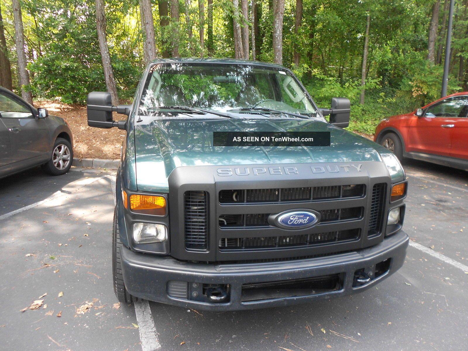 2008 ford f 350 duty xl crew cab pickup 4 door 6 4l. Black Bedroom Furniture Sets. Home Design Ideas