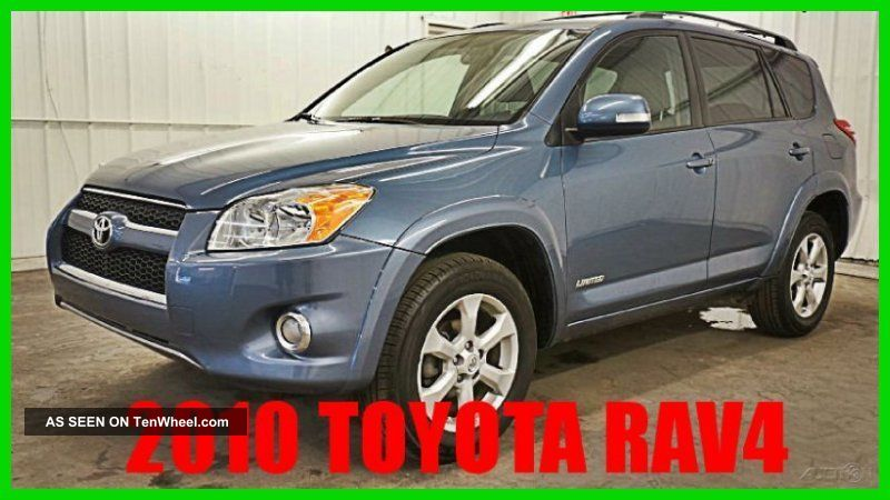 2010 Toyota Rav4 Limited 2.  5l I4 16v 4wd Premium Loaded 64xxx Orig 80+ Photos RAV4 photo