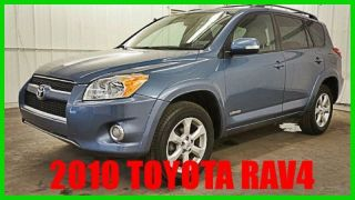 2010 Toyota Rav4 Limited 2.  5l I4 16v 4wd Premium Loaded 64xxx Orig 80+ Photos photo