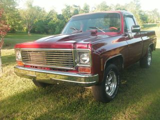 1974 Chevy Short Bed Pickup Truck.  Trades Concidered. photo