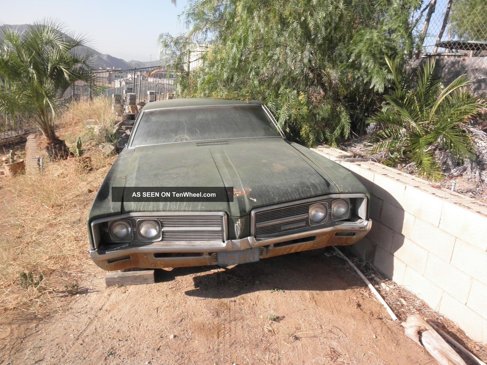 1968 Buick Lesabre 2 Door Coupe Needs Restro,  Good Start Rat Rod Lowrider LeSabre photo