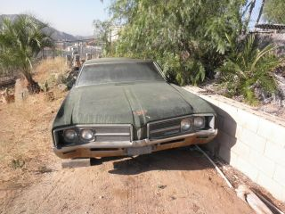 1968 Buick Lesabre 2 Door Coupe Needs Restro,  Good Start Rat Rod Lowrider photo
