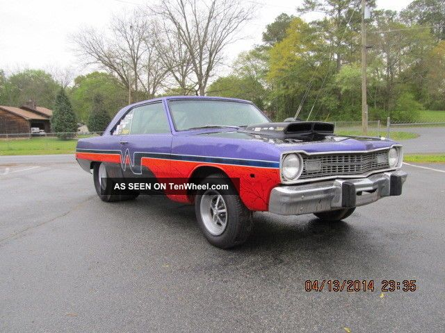 1973 Dodge Dart Race Or Street Car Rolling Chasis Tubed Dart photo