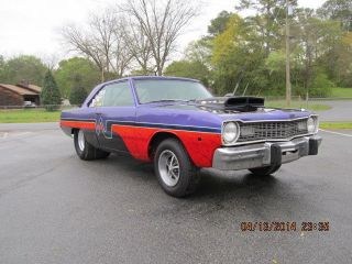 1973 Dodge Dart Race Or Street Car Rolling Chasis Tubed photo