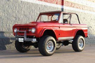 1974 Ford Bronco Early Frameoff Restoration Restomod Motorswap Fiberglass Body photo