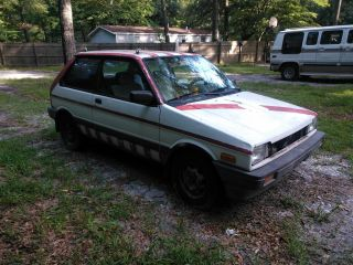 1988 Subaru Justy photo