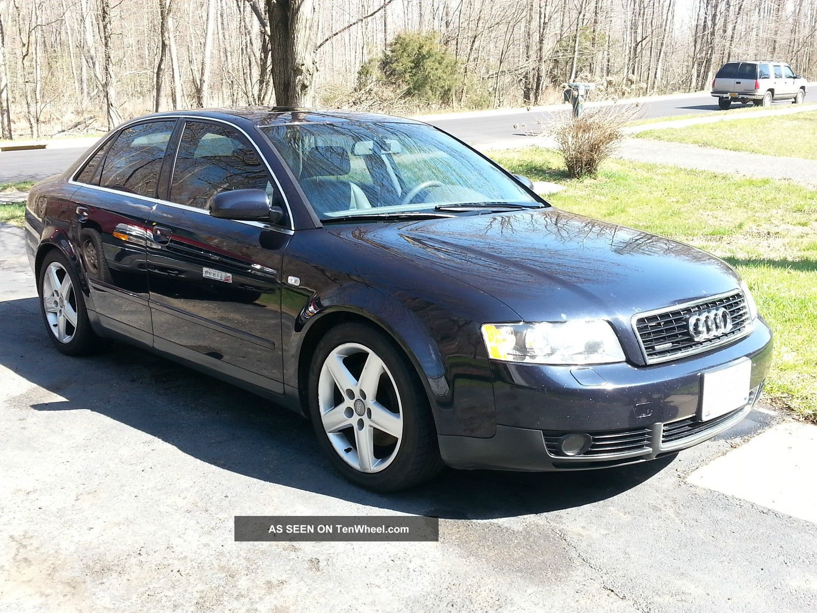 2003 audi a4 quattro base sedan 4 door 3 0l. Black Bedroom Furniture Sets. Home Design Ideas