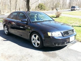 2003 Audi A4 Quattro Base Sedan 4 - Door 3.  0l photo