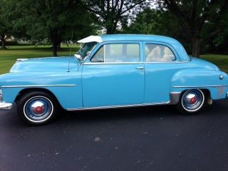 Cars trucks plymouth other web museum for 1951 plymouth 2 door