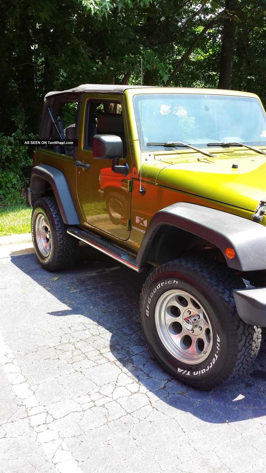 2007 Rescue Green Jeep Wrangler X