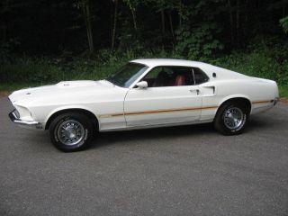 1969 Mustang Mach 1 photo