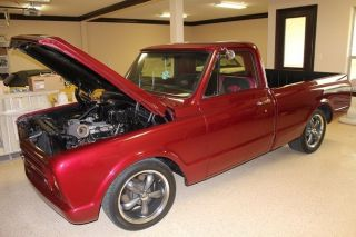 1967 C - 10 Chevy Truck Swb Chevrolet,  Efi 350 Sbc,  4l60e Autotrans W / Overdrive photo