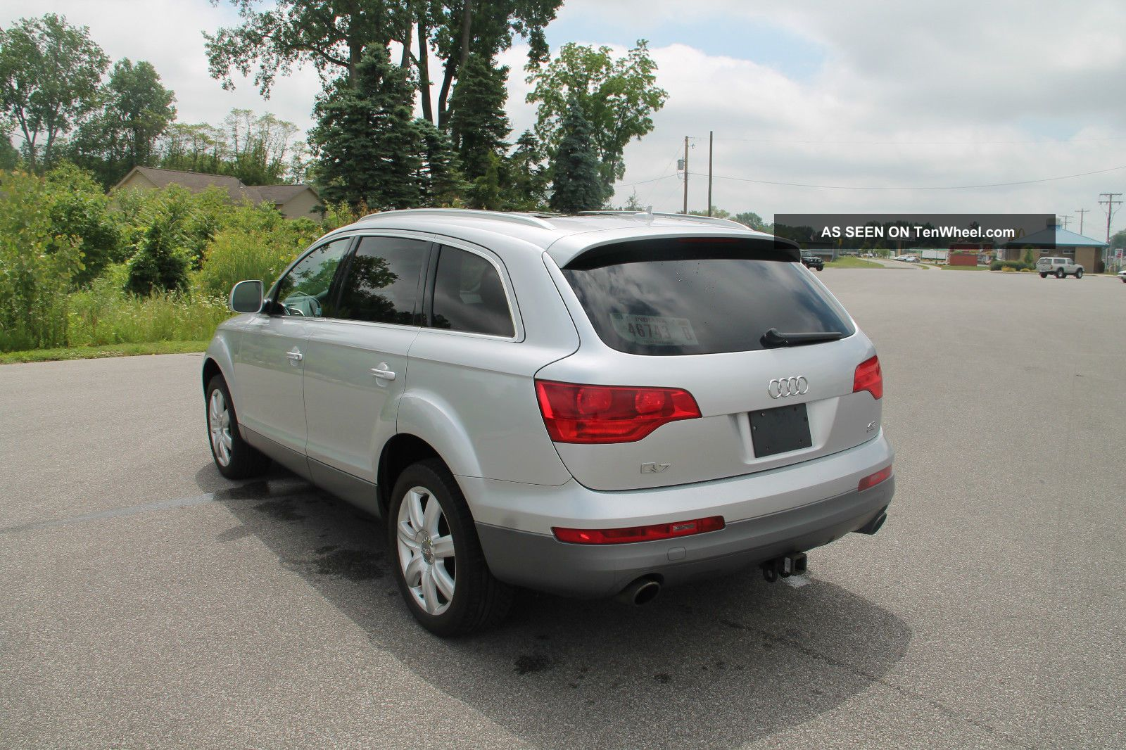 2007 audi q7 4 8 quattro 3rd row seat towing pkg. Black Bedroom Furniture Sets. Home Design Ideas