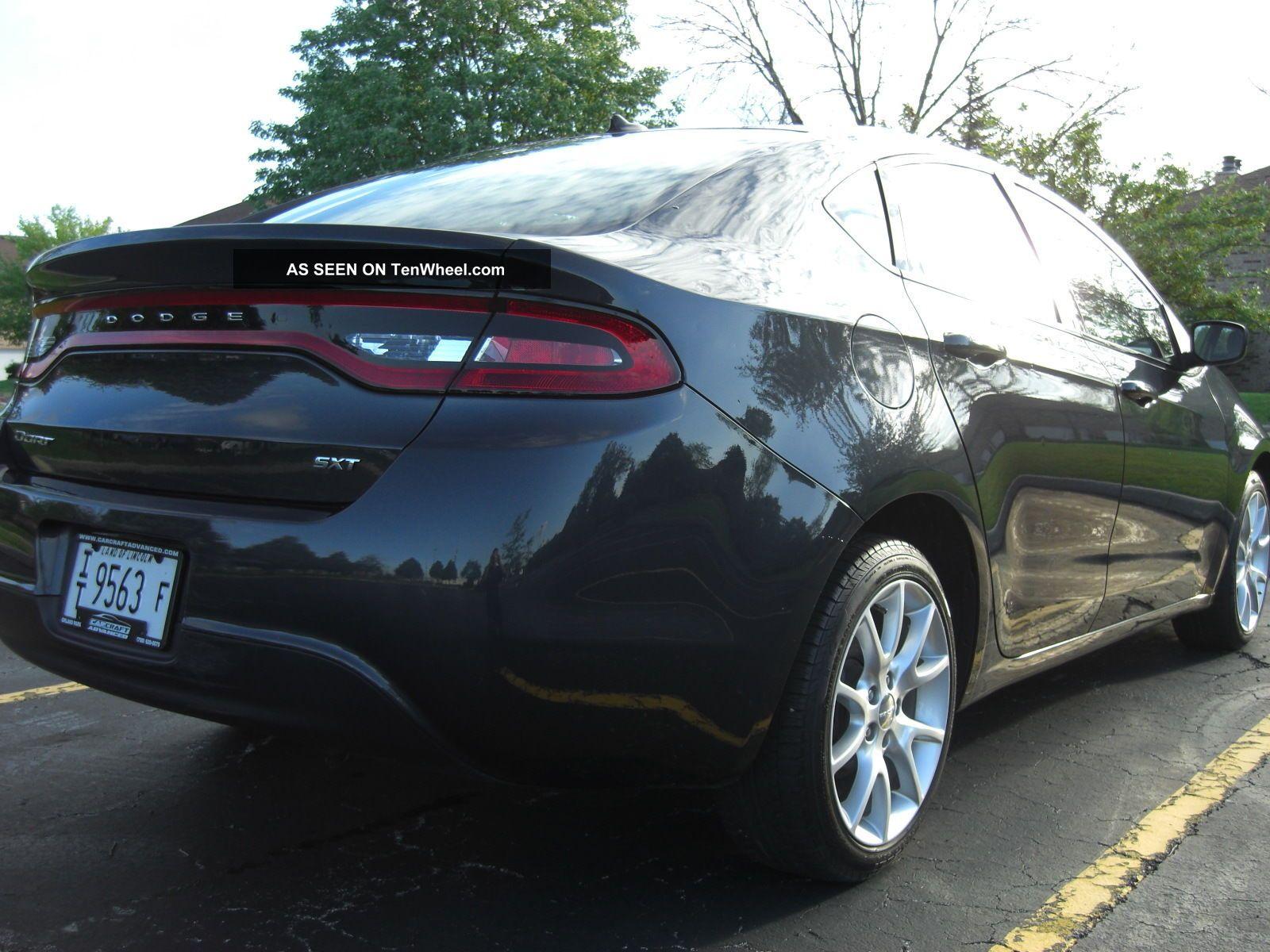 2013 Dodge Dart Sxt Sedan 4 - Door 2.  0l Dart photo