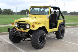 1974 Land Cruiser Fj40 Frameoff Restoration Restomod Crate Motor Fuel Injected photo