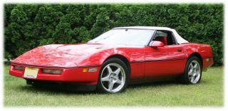 1988 Chevrolet Corvette Base Convertible 2 - Door 5.  7l photo